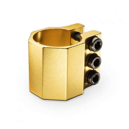 Хомут Trolo нижний 3х болтовый к Quantum и Pixel Золотой