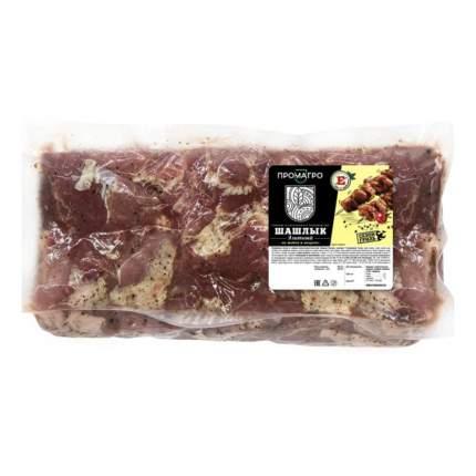 Шашлык свиной Промагро Элитный охлажденный +-1 кг
