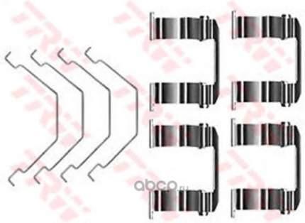 Ремкомплект тормозных колодок пер Seat Ibiza/Lancia Y10/Fiat Croma/Fiorino 80>