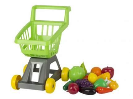 Тележка для супермаркета с фруктами и овощами, арт. У958