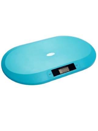 Весы детские, электронные, цвет: бирюзовый