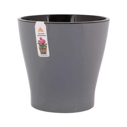 """Горшок цветочный для орхидеи """"Альтернатива. Лея"""", двойной, с автополивом, 3,6 литра"""