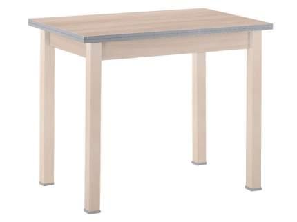 Кухонный стол Выбеленная береза (массив)/Шимо светлый