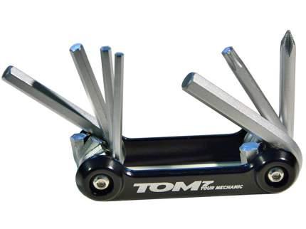 Велосипедный мультитул SKS Tom 7 в 1 черный, с чехлом