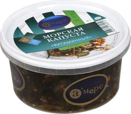 Салат А'Море витаминный из морской капусты 470 г