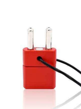 Ингалятор с двойной камерой Push Xtreme Fetish Double Inhaler with Magnetic Lock красный