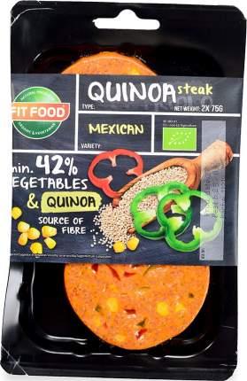 Стейк вегетарианский Fit Food Mexican из киноа 150 г