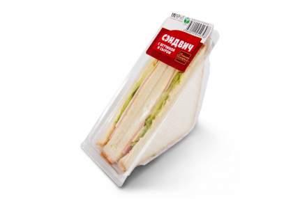 Сэндвич Восьмая Империя с ветчиной и сыром охлажденный