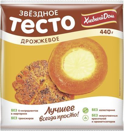 Тесто Хлебный дом дрожжевое