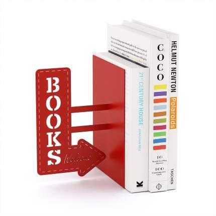 Держатель для книг BookShop красный