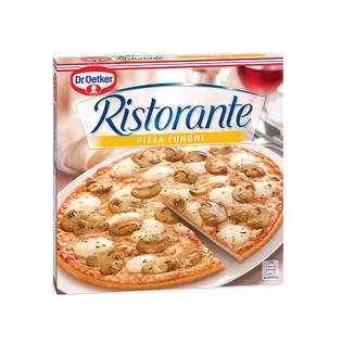 Пицца Dr.Oetker Ristorante с шампиньонами замороженная 360 г