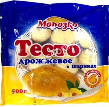 Тесто Морозко дрожжевое в шариках замороженное