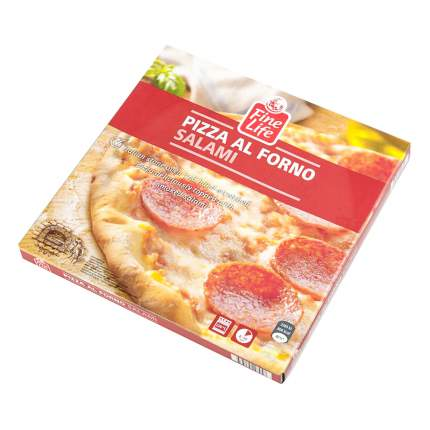 Пицца Fine Life салями замороженная