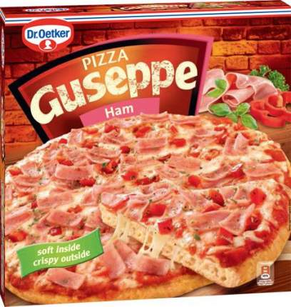 Пицца Guseppe с ветчиной