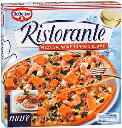 Пицца Ristorante лосось тунец креветки