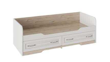 Кровать Трия Тоскана, белый жемчуг/гикори джексон