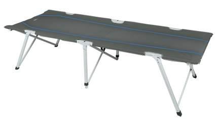 Кровать   Campingliege Oviedo темно-серый/голубой, 44160