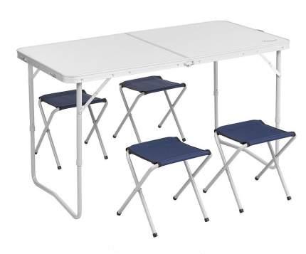Набор мебели, стол 60x120см АЛ + 4 табурета СТ PREMIER fishing