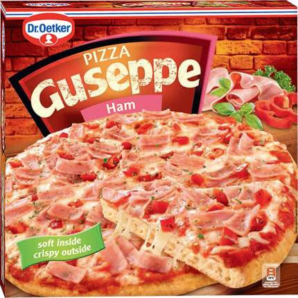 Пицца Guseppe ветчина на пышном тесте замороженная
