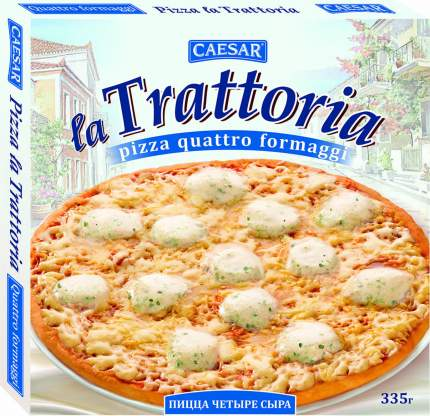 Пицца La Trattoria 4 сыра замороженная