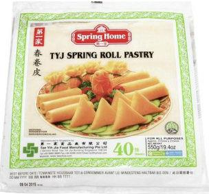 Тесто Spring Home для спринг роллов замороженное