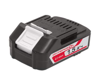 Батарея аккумуляторная Интерскол АПИ-1.5/18 18В 1.5Ач Li-Ion (2400.019)