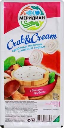 Крабовые палочки Меридиан с мягким сыром с белыми грибами 500 г