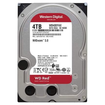 """Внутренний HDD диск Western Digital Red 3.5"""" 4TB (WD40EFAX)"""