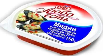 Мидии Vici в кисло-сладком китайском соусе 150 г