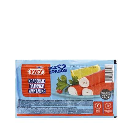 Крабовые палочки Vici замороженные 240 г