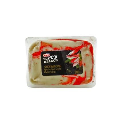 Крабовое мясо Vici Снежный краб охлажденное