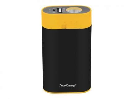 3-в-1 - Внешний аккумулятор на 4400 мА⋅ч. с фонарём и ручной грелкой. Чёрный/жёлтый, 3195