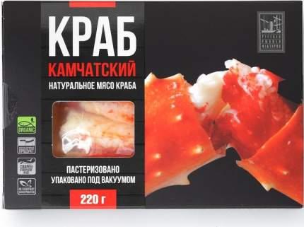 Мясо краба Русская Рыбная Фактория натуральное 220 г