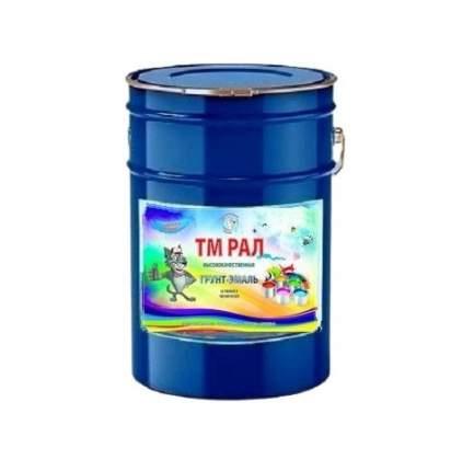 Грунт-Эмаль ТМ РАЛ антикоррозионная для металла 3 в 1 RAL 6005 Зеленый мох 20 кг