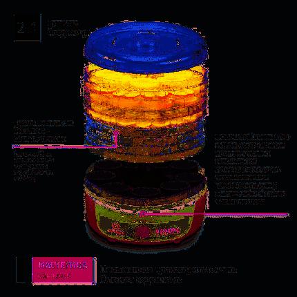 Сушилка для овощей и фруктов Мастерица СШ-0205К