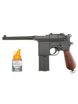 Пистолет пневматический Gletcher M712 + Дробь Gletcher GL BB-500