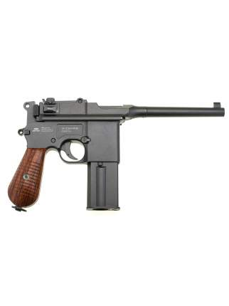 Пистолет пневматический Gletcher M712 + 3 баллона СО2