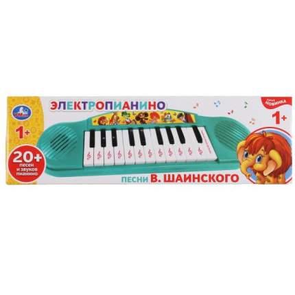 Электропианино песни В.Шаинского, на бат 12 песен, 2 режима работы Умка