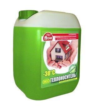 Теплоноситель Комфортный дом -30 Эко / 20 кг для систем отопления