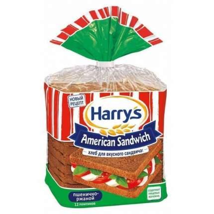 Хлеб Harry's american sandwich cандвичный пшенично-ржаной 470 г