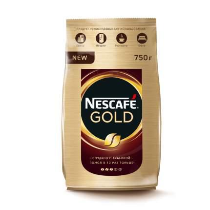 Кофе Nescafe gold растворимый сублимированный 750 г