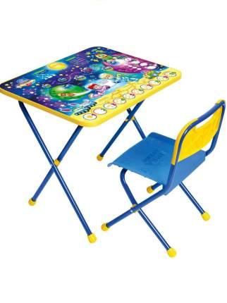Комплект детской мебели Nika КП/8 Математика в космосе со столом и стулом, от 1,5 до 3 лет