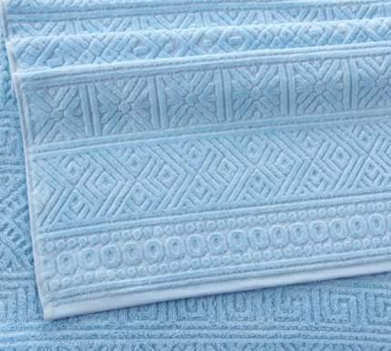 """Полотенце Махровое """"Саксония светло-голубой"""" 70х140 плотность 500 г/м2"""