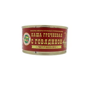 Каша Череповецкий МК гречневая с говядиной 325 г
