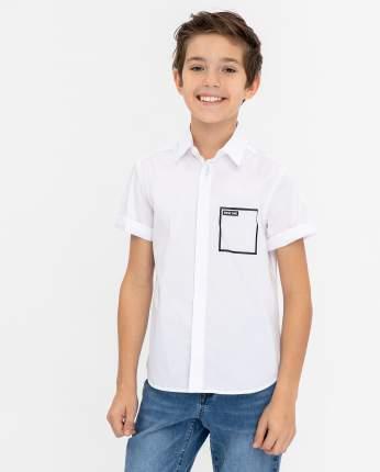 Рубашка для мальчиков Gulliver, цв. белый, р.134