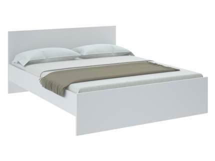 Двуспальная кровать НИКОЛЬ кровать Белый, 1400х2000 мм, Без основания