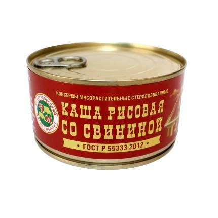 Каша Череповецкий МК рисовая с свининой 325 г