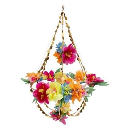 Подвеска из бумаги и ткани Meri Meri Яркий цветок