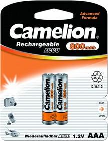 Аккумуляторная батарея Camelion AAA-800mAh Ni-Mh BL-2