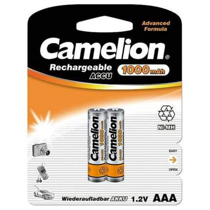 Аккумуляторная батарея Camelion AAA-1000mAh Ni-Mh BL-2